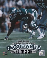 Reggie White - Minister of Defense / '06 H.O.F. Fine-Art Print