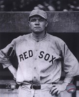 Babe Ruth - Close Up (Red Sox) Fine-Art Print