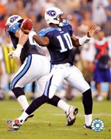 Vince Young - '06 / '07 in action Fine-Art Print