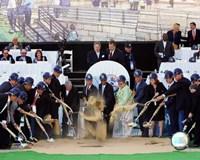 New Yankee Stadium - 2006 Ground Breaking Ceremony Fine-Art Print
