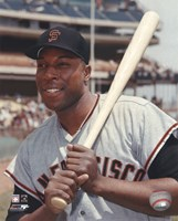 Willie McCovey - Posed With / Bat Fine-Art Print