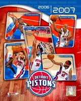 '06 / '07 Pistons Team Composite Fine-Art Print