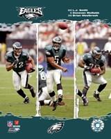 """2006 - Eagles """"Big 3"""" Fine-Art Print"""