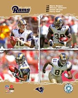 "2006 - Rams ""Big 4"" Fine-Art Print"