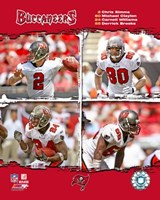 "2006 - Buccaneers ""Big4"" Composite Fine-Art Print"