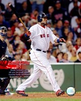 David Ortiz - 09/21/06 51st  H.R. With Overlay Fine-Art Print
