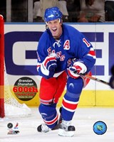 Brendan Shanahan 600th Career Goal / 10/5/06 with Overlay Fine-Art Print