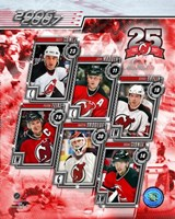 '06 / '07 Devils Team Composite Fine-Art Print