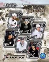 '06 / '07 Ducks Team Composite Fine-Art Print