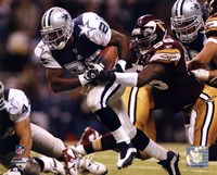 Emmitt Smith - '02 Action Fine-Art Print