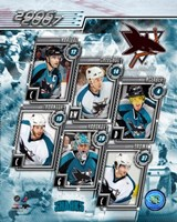 2006 - Sharks Team Composite Fine-Art Print