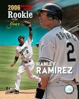 Hanley Ramirez - 2006 N.L. R.O.Y. Fine-Art Print