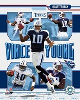 Vince Young - 2006 Portrait Plus Fine-Art Print