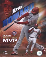 Ryan Howard - 2006 N.L. M.V.P. Fine-Art Print