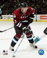Milan Hejduk - '06 / '07 Home Action Fine-Art Print