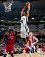 Rudy Gay - '06 / '07 Action Fine-Art Print