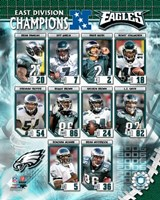 Eagles - 2006 NFC East Champions Composite Fine-Art Print