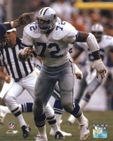 "Ed ""Too Tall"" Jones 1985 Action Fine-Art Print"