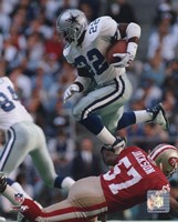 Emmitt Smith - 1995 Action Fine-Art Print