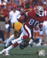 Jerry Rice - Action Fine-Art Print