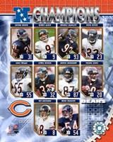 2006  - Bears NFC Champions Composite Fine-Art Print