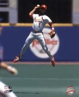 Ozzie Smith - 1993 Fielding Action Fine-Art Print