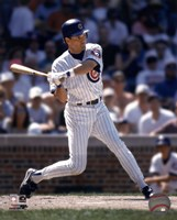 Ryne Sandberg -  1996 Batting Action Fine-Art Print
