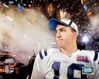 Peyton Manning SuperBowl XLI Fireworks (#23) Fine-Art Print