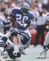 Barry Sanders - 1996 Action Fine-Art Print