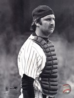 Thurman Munson - 1978 Catching Action Fine-Art Print