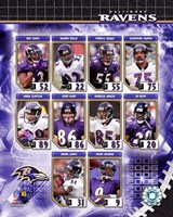2006 - Ravens Team Composite Fine-Art Print
