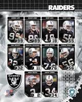 2006 - Raiders Team Composite Fine-Art Print