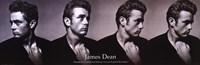 James Dean Dream As You Live - Slim Print Wall Poster