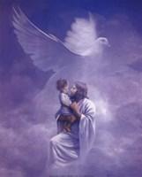 Christ And Child Fine-Art Print