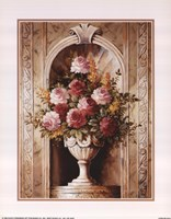 Assorted Roses In Urn Fine-Art Print
