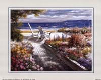 Path With Beach Chairs Fine-Art Print