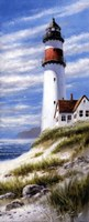 Lighthouse On Cliff Fine-Art Print