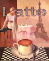 Latte - Paris Fine-Art Print