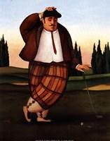 Golf Putt Fine-Art Print