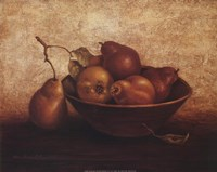 Pears In Bowl Fine-Art Print
