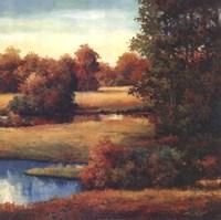 Lakeside Serenity II Fine-Art Print