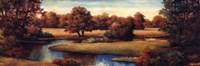 Lakeside Serenity Panel Fine-Art Print