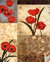 Poppy Damasque Fine-Art Print