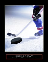 Breakaway-Slap Shot Fine-Art Print