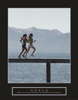 Goals - Joggers Fine-Art Print
