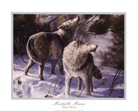 Winter Wolves Fine-Art Print