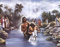 White Baptism Fine-Art Print