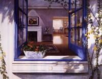 Blue Window Fine-Art Print