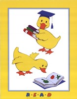 Ducks - Reading Fine-Art Print