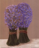 Purple Flowers In String Fine-Art Print
